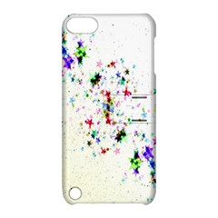 Star Structure Many Repetition Apple Ipod Touch 5 Hardshell Case With Stand by Amaryn4rt