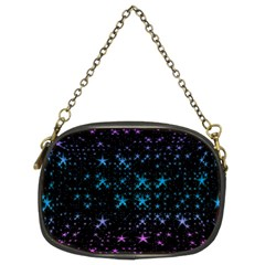 Stars Pattern Seamless Design Chain Purses (two Sides)  by Amaryn4rt