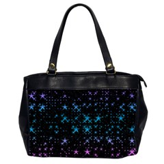 Stars Pattern Seamless Design Office Handbags (2 Sides)