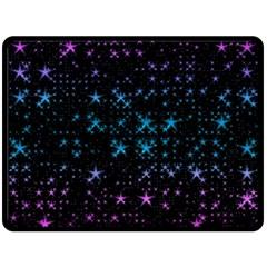 Stars Pattern Seamless Design Double Sided Fleece Blanket (large)  by Amaryn4rt