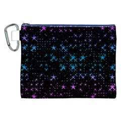 Stars Pattern Seamless Design Canvas Cosmetic Bag (xxl)