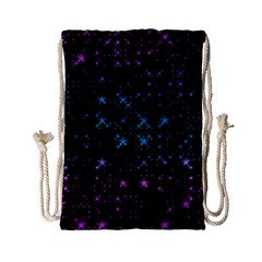 Stars Pattern Seamless Design Drawstring Bag (small) by Amaryn4rt