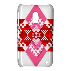 Valentine Heart Love Pattern Nokia Lumia 620