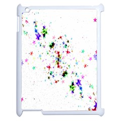 Star Structure Many Repetition Apple Ipad 2 Case (white) by Amaryn4rt