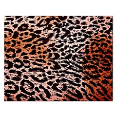 Tiger Motif Animal Rectangular Jigsaw Puzzl by Amaryn4rt