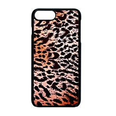 Tiger Motif Animal Apple Iphone 7 Plus Seamless Case (black) by Amaryn4rt