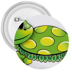 Cartoon Turtle 3  Buttons by TailWags
