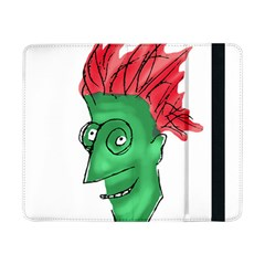 Crazy Man Drawing  Samsung Galaxy Tab Pro 8 4  Flip Case by dflcprintsclothing