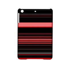 Abstract Of Red Horizontal Lines Ipad Mini 2 Hardshell Cases by Amaryn4rt