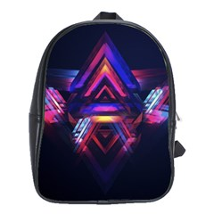 Abstract Desktop Backgrounds School Bags (xl)  by Amaryn4rt