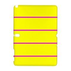 Background Image Horizontal Lines And Stripes Seamless Tileable Magenta Yellow Galaxy Note 1 by Amaryn4rt
