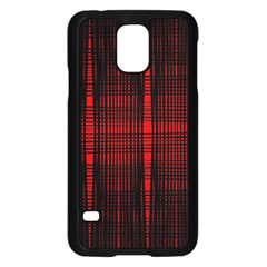 Black And Red Backgrounds Samsung Galaxy S5 Case (black) by Amaryn4rt