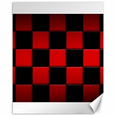 Black And Red Backgrounds Canvas 11  X 14   by Amaryn4rt