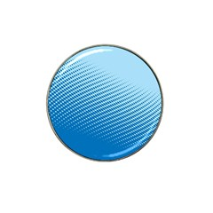 Blue Dot Pattern Hat Clip Ball Marker (4 Pack)