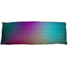 Blue And Pink Colors On A Pattern Body Pillow Case Dakimakura (two Sides)