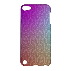 Blue And Pink Colors On A Pattern Apple Ipod Touch 5 Hardshell Case