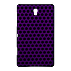 Dark Purple Metal Mesh With Round Holes Texture Samsung Galaxy Tab S (8 4 ) Hardshell Case