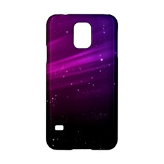 Purple Wallpaper Samsung Galaxy S5 Hardshell Case  by Amaryn4rt