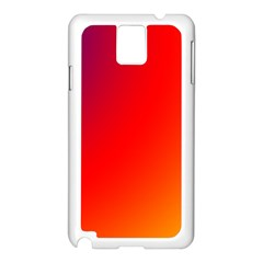 Rainbow Background Samsung Galaxy Note 3 N9005 Case (white)