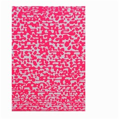 Template Deep Fluorescent Pink Large Garden Flag (Two Sides) by Amaryn4rt