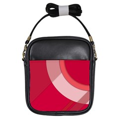 Red Material Design Girls Sling Bags by Amaryn4rt