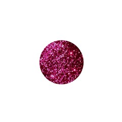 Pink Glitter 1  Mini Buttons by Amaryn4rt