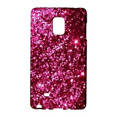 Pink Glitter Galaxy Note Edge by Amaryn4rt