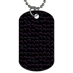 Smooth Color Pattern Dog Tag (two Sides) by Amaryn4rt