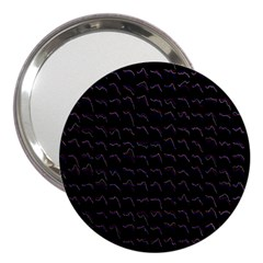 Smooth Color Pattern 3  Handbag Mirrors by Amaryn4rt