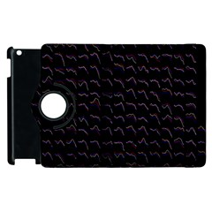 Smooth Color Pattern Apple Ipad 2 Flip 360 Case by Amaryn4rt