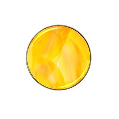Yellow Pattern Painting Hat Clip Ball Marker (10 Pack) by Amaryn4rt