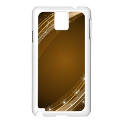 Abstract Background Samsung Galaxy Note 3 N9005 Case (white) by Amaryn4rt