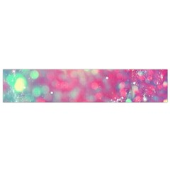 Colorful Sparkles Flano Scarf (small) by Brittlevirginclothing