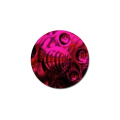Abstract Bubble Background Golf Ball Marker by Amaryn4rt