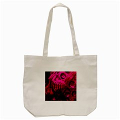 Abstract Bubble Background Tote Bag (cream)