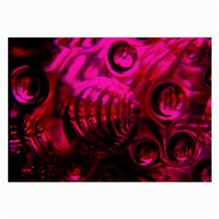 Abstract Bubble Background Large Glasses Cloth (2 Side) by Amaryn4rt