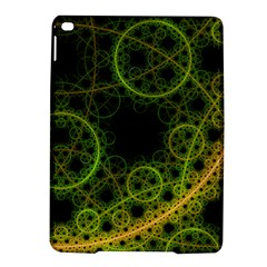 Abstract Circles Yellow Black iPad Air 2 Hardshell Cases by Amaryn4rt