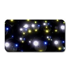 Abstract Dark Spheres Psy Trance Medium Bar Mats by Amaryn4rt