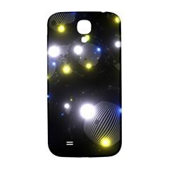 Abstract Dark Spheres Psy Trance Samsung Galaxy S4 I9500/i9505  Hardshell Back Case by Amaryn4rt