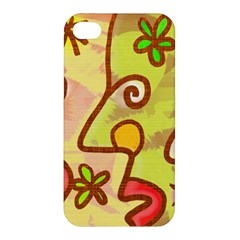 Abstract Faces Abstract Spiral Apple Iphone 4/4s Hardshell Case by Amaryn4rt
