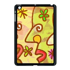 Abstract Faces Abstract Spiral Apple Ipad Mini Case (black) by Amaryn4rt