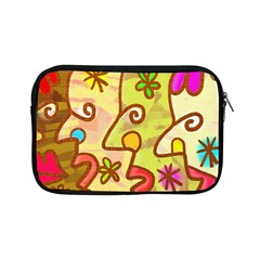Abstract Faces Abstract Spiral Apple Ipad Mini Zipper Cases by Amaryn4rt