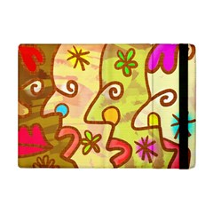 Abstract Faces Abstract Spiral Ipad Mini 2 Flip Cases by Amaryn4rt