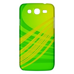 Abstract Green Yellow Background Samsung Galaxy Mega 5 8 I9152 Hardshell Case  by Amaryn4rt