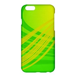 Abstract Green Yellow Background Apple Iphone 6 Plus/6s Plus Hardshell Case by Amaryn4rt