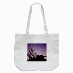 Arches National Park Night Tote Bag (white) by Amaryn4rt