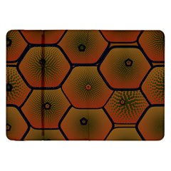 Art Psychedelic Pattern Samsung Galaxy Tab 8 9  P7300 Flip Case by Amaryn4rt