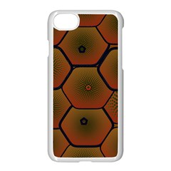 Art Psychedelic Pattern Apple Iphone 7 Seamless Case (white) by Amaryn4rt