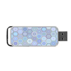Bee Hive Background Portable Usb Flash (one Side) by Amaryn4rt