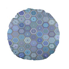 Bee Hive Background Standard 15  Premium Round Cushions by Amaryn4rt